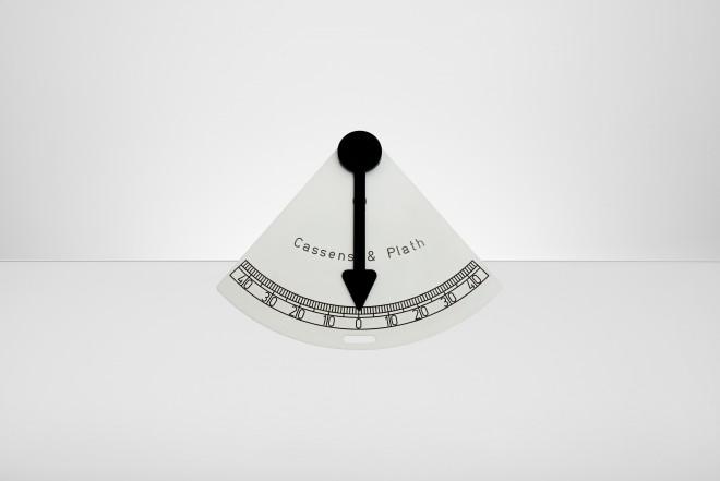 Pendulum Clinometer triangular