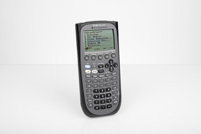 STARPILOT TI-89 navigation computer